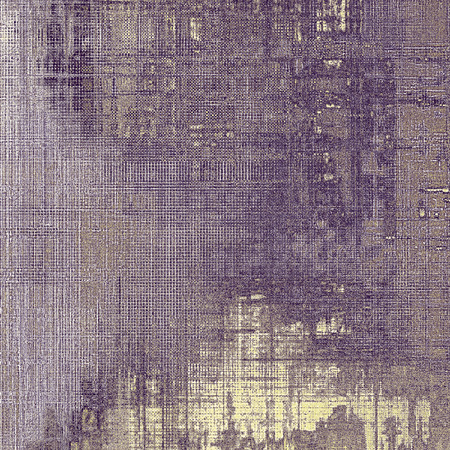 eroded: Old school aged texture or background for retro grunge design. With different color patterns: gray; purple (violet); yellow (beige); brown