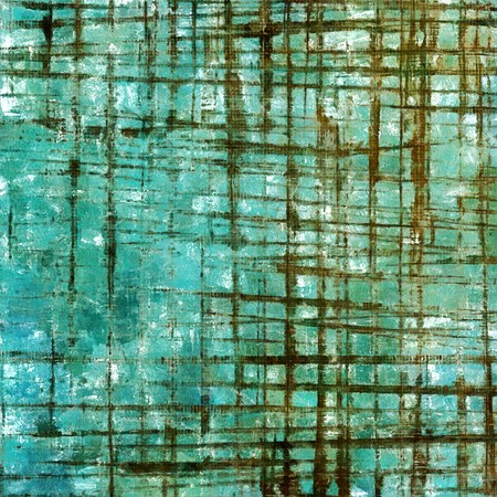 eroded: Shabby texture or background with classy vintage elements. Grunge backdrop with different color patterns: green; blue; brown; white; cyan