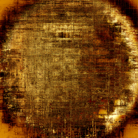 eroded: Spherical distressed grunge texture, damaged vintage background with different color patterns: gray; red (orange); yellow (beige); brown; black