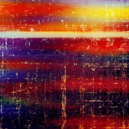 Colorful scratched background or grungy texture. With different color patterns: yellow (beige); brown; blue; red (orange); purple (violet); pink