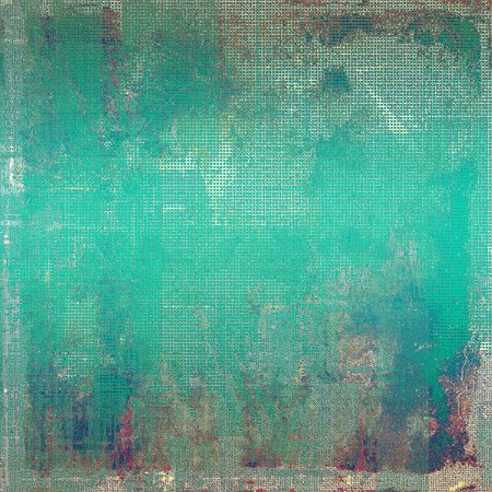 crosshatching: Rough textured backdrop, abstract vintage background with different color patterns: brown; green; blue; gray; cyan; pink