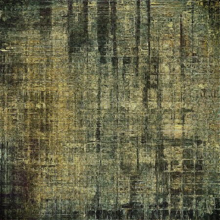 eroded: Scratched vintage texture, grunge style frame or background. With different color patterns: yellow (beige); brown; gray; black