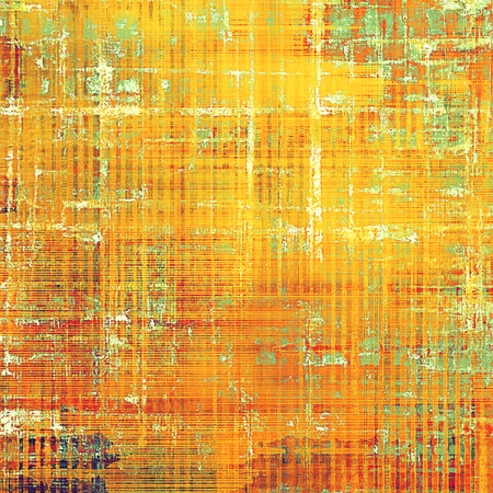 obscure: Decorative vintage texture or creative grunge background with different color patterns: yellow (beige); brown; green; red (orange); white; pink Stock Photo