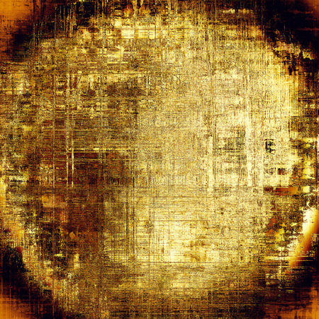 Spherical colorful abstract retro background, aged vintage texture. With different color patterns: yellow (beige); brown; gray; red (orange); black