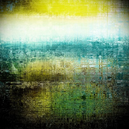 tincture: Retro texture, shabby and ragged background in grunge style. With different color patterns: yellow (beige); green; blue; black; cyan; white