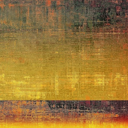 classic contrast: Scratched vintage colorful background, designed grunge texture. With different color patterns: yellow (beige); brown; gray; green; red (orange); purple (violet)
