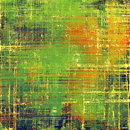 nice looking: Nice looking grunge texture or abstract background. With different color patterns: yellow (beige); green; blue; red (orange) Stock Photo