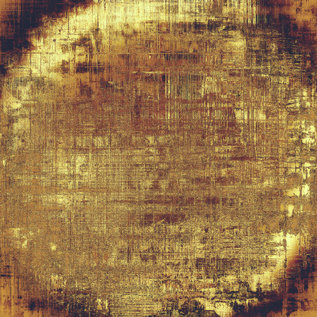 tincture: Spherical vintage texture, old style frame decoration with grunge graphic elements and different color patterns: yellow (beige); brown; red (orange); purple (violet); pink Stock Photo