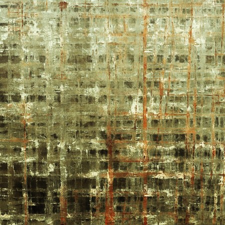 mottled: Mottled vintage background with grunge texture and different color patterns: yellow (beige); brown; gray; green; red (orange); black
