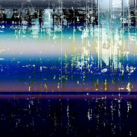 Art graphic texture for grunge abstract background. Aged colorful backdrop with different color patterns: yellow (beige); blue; purple (violet); black; cyan; pink