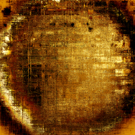Spherical retro style grunge background, mottled vintage texture. With different color patterns: yellow (beige); brown; gray; red (orange); black
