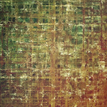 obscure: Shabby texture or background with classy vintage elements. Grunge backdrop with different color patterns: yellow (beige); brown; gray; green; red (orange)