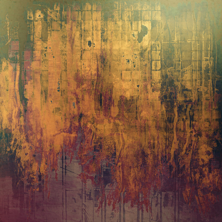 nice looking: Nice looking grunge texture or abstract background. With different color patterns: yellow (beige); brown; gray; green; red (orange); purple (violet)