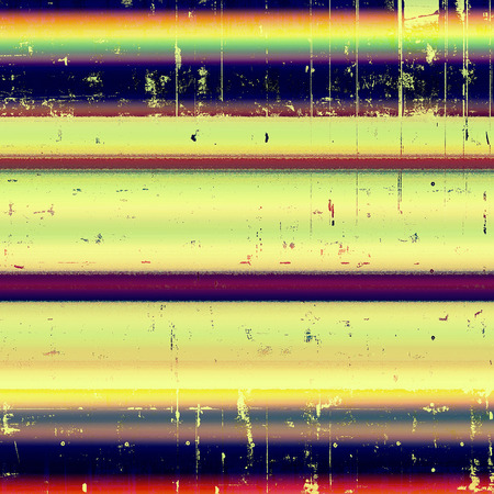 urban decay: Vintage background in scrap-booking style, faded grunge texture with different color patterns: yellow (beige); green; blue; red (orange); purple (violet)