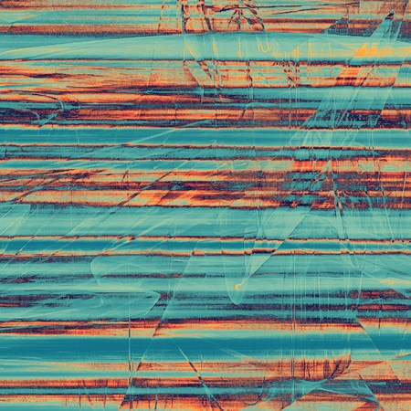 backdrop grungy: Abstract vintage background with faded grungy texture. Aged backdrop with different color patterns: yellow (beige); blue; red (orange); cyan