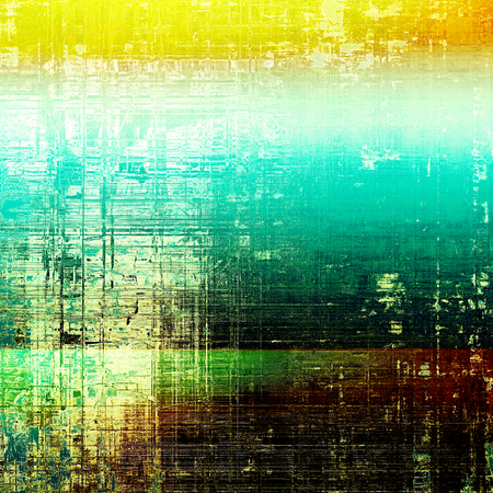 Abstract vintage colored background. With different color patterns: yellow (beige); brown; green; blue; red (orange); white
