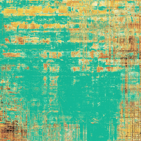 tincture: Old crumpled grunge background or ancient texture. With different color patterns: yellow (beige); brown; blue; cyan