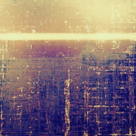eroded: Retro background, antique texture for abstract vintage design composition. With different color patterns: yellow (beige); brown; gray; blue; red (orange); purple (violet)
