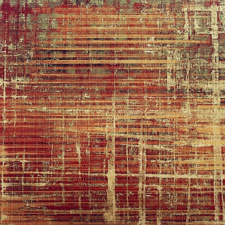 obscure: Abstract vintage background with grunge effects, ragged elements, and different color patterns: yellow (beige); brown; gray; red (orange); purple (violet); pink