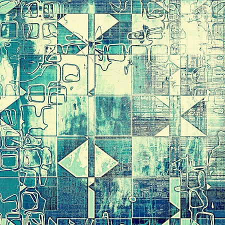 nice looking: Geometric nice looking grunge texture or abstract background. With different color patterns: gray; blue; white; cyan