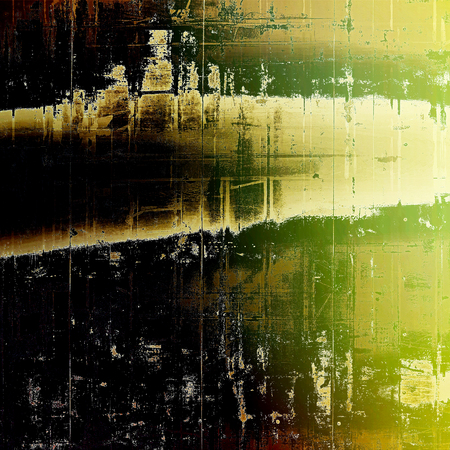 Stylish grunge texture, old damaged background. With different color patterns: yellow (beige); brown; gray; green; black; white