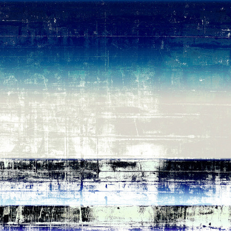 Retro design on grunge background or aged faded texture. With different color patterns: gray; blue; cyan; white; black