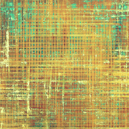 parallel: Retro abstract background, vintage grunge texture with different color patterns: yellow (beige); brown; green; blue; red (orange)