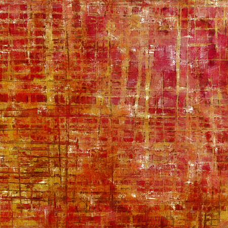 exceptional: Creative grunge background in vintage style. Faded shabby texture with different color patterns: yellow (beige); brown; red (orange); pink