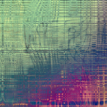 exceptional: Abstract grunge background or damaged vintage texture. With different color patterns: gray; green; blue; purple (violet); cyan; pink Stock Photo