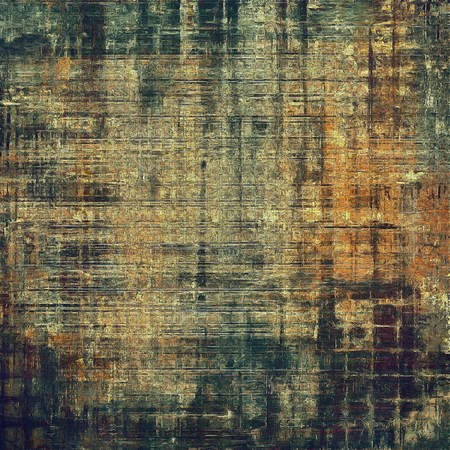 obscure: Vintage style designed background, scratched grungy texture with different color patterns: yellow (beige); brown; gray; green; black