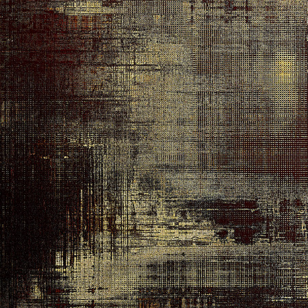 eroded: Scratched grunge background or spotted vintage texture. With different color patterns: yellow (beige); brown; gray; black