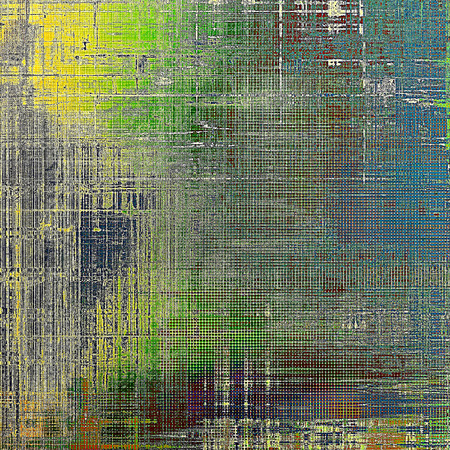 Scratched grunge background or spotted vintage texture. With different color patterns: yellow (beige); brown; green; gray; blue