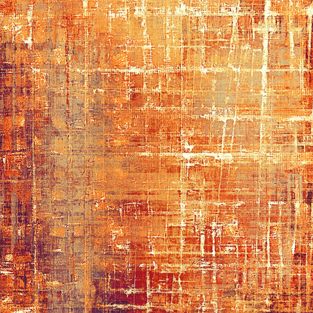 Grunge texture, scratched surface or vintage background. With different color patterns: yellow (beige); brown; gray; red (orange); purple (violet); white