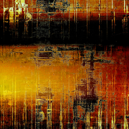 Grunge texture, decorative vintage background. With different color patterns: yellow (beige); brown; red (orange); black; pink