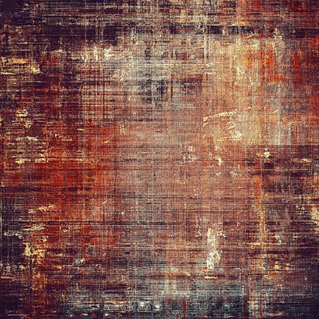 violet red: Grunge abstract textured background, aged backdrop with different color patterns: yellow (beige); brown; red (orange); purple (violet); black; pink Stock Photo