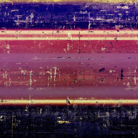 violet red: Retro style abstract background, aged graphic texture with different color patterns: yellow (beige); blue; red (orange); purple (violet); black; pink Stock Photo