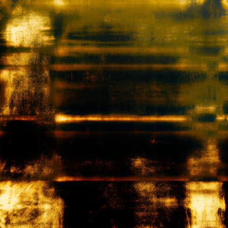 obscure: Vintage mottled frame, textured grunge background with different color patterns: yellow (beige); brown; gray; green; red (orange); black