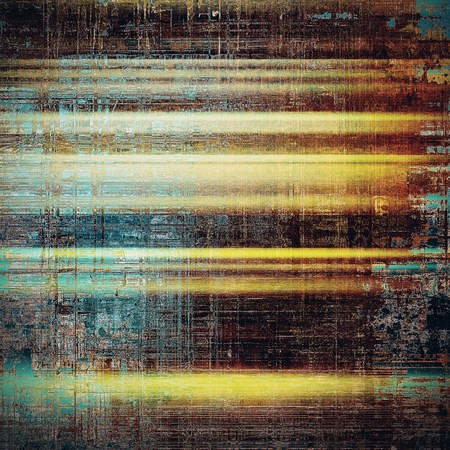 Grunge background for your design, aged shabby texture with different color patterns: yellow (beige); brown; blue; black; cyan