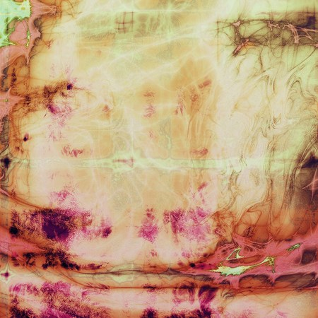violet red: Old crumpled grunge background or ancient texture. With different color patterns: yellow (beige); brown; green; red (orange); purple (violet); pink