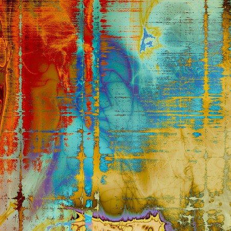 nice looking: Nice looking grunge texture or abstract background. With different color patterns: yellow (beige); brown; blue; red (orange); purple (violet) Stock Photo