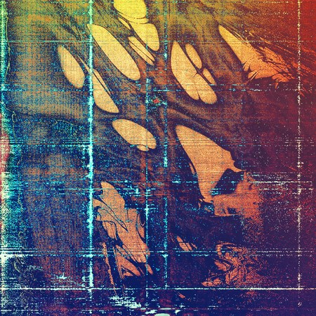 crosshatched: Retro texture used as abstract grunge background. Shabby backdrop with different color patterns: yellow (beige); brown; blue; red (orange); purple (violet); pink