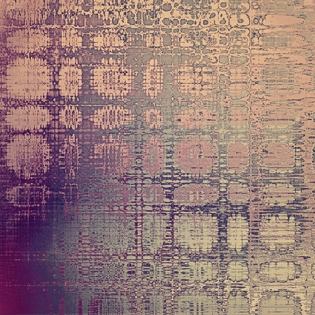 tincture: Old grunge background or aged shabby texture with different color patterns: yellow (beige); gray; purple (violet); pink