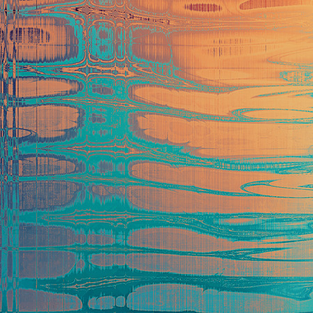 eroded: Colorful scratched background or grungy texture. With different color patterns: yellow (beige); brown; blue; red (orange); cyan