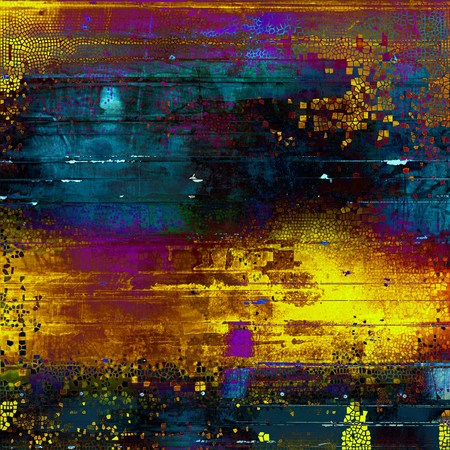 crosshatched: Retro design composition, grunge background or textured backdrop. With different color patterns: yellow (beige); brown; green; blue; red (orange); purple (violet)