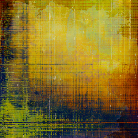 exceptional: Colorful abstract retro background, aged vintage texture. With different color patterns: yellow (beige); brown; green; blue; red (orange)