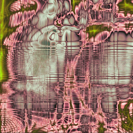 green purple: Vintage elegant background, creased grunge backdrop with aged texture and different color patterns: brown; green; purple (violet); gray; cyan; pink