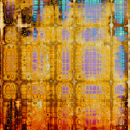 Old crumpled grunge background or ancient texture. With different color patterns: yellow (beige); brown; purple (violet); blue; red (orange); pink