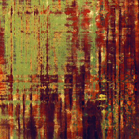 Abstract grunge background or damaged vintage texture. With different color patterns: yellow (beige); brown; green; red (orange); purple (violet); pink
