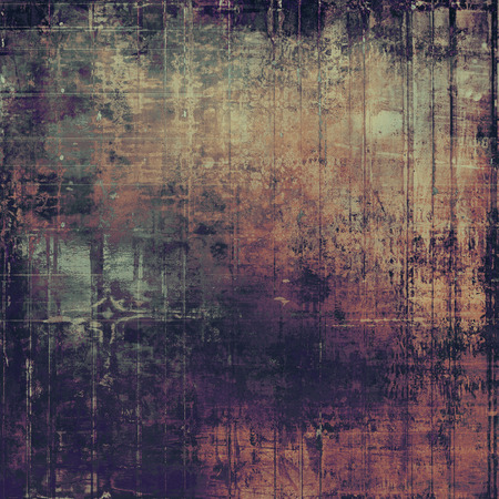 eroded: Traditional grunge background, scratched texture with vintage style design and different color patterns: yellow (beige); brown; gray; purple (violet); pink; black