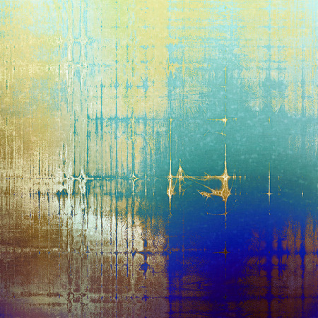 Abstract rough grunge background, colorful texture. With different color patterns: yellow (beige); brown; gray; cyan; white; blue